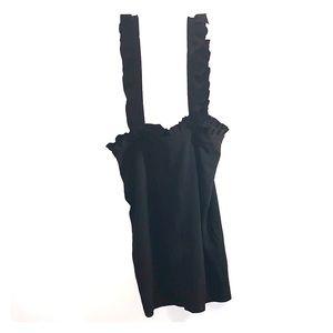 Dress with detachable straps